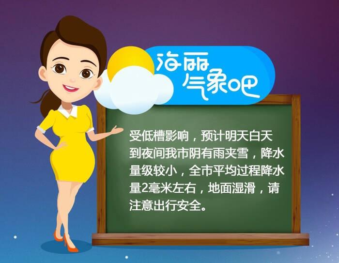 海丽气象吧 12月1日 聊城或迎今冬初雪