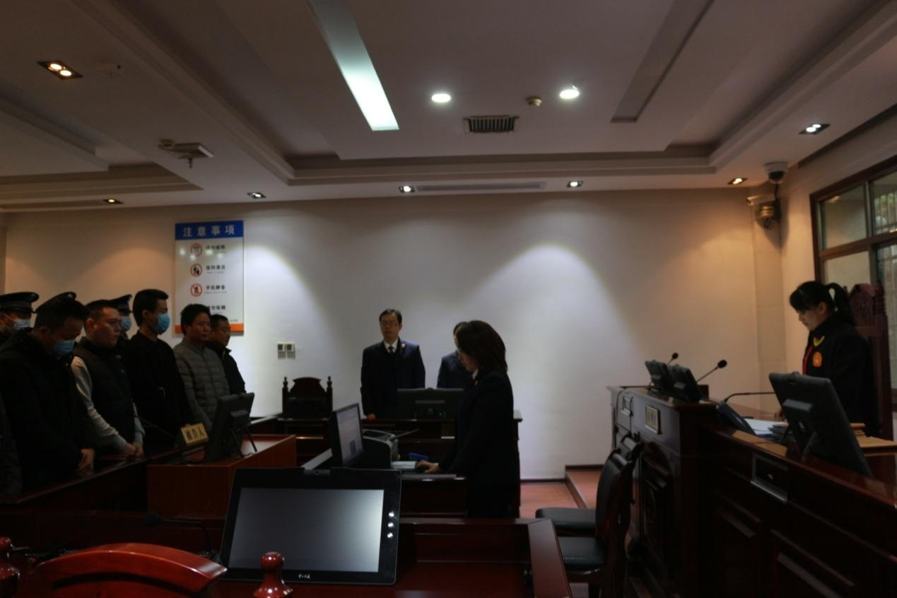 娄星区人民检察院集中出庭公诉十四起危险驾驶案件 代表委员观摩庭审