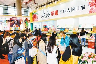 陕西水果走俏第17届 中国—东盟博览会
