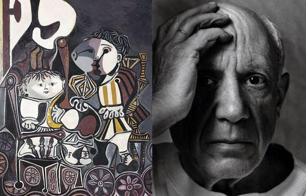 毕加索钟爱的这幅《两个小孩》,被王健林以一亿七千二百万买下了