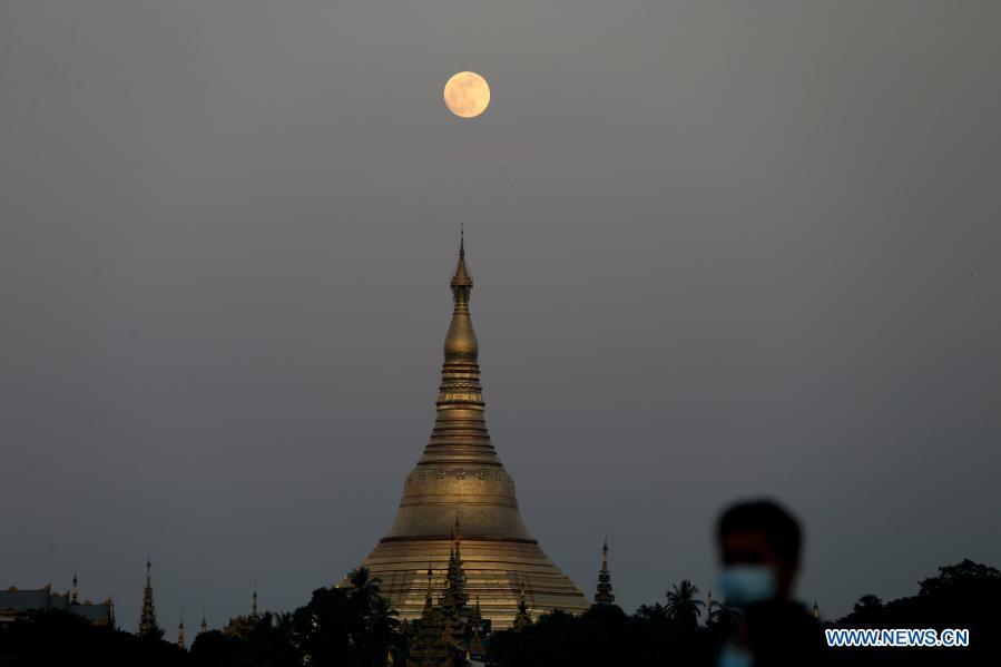 Festival of Lights marked in Myanmar