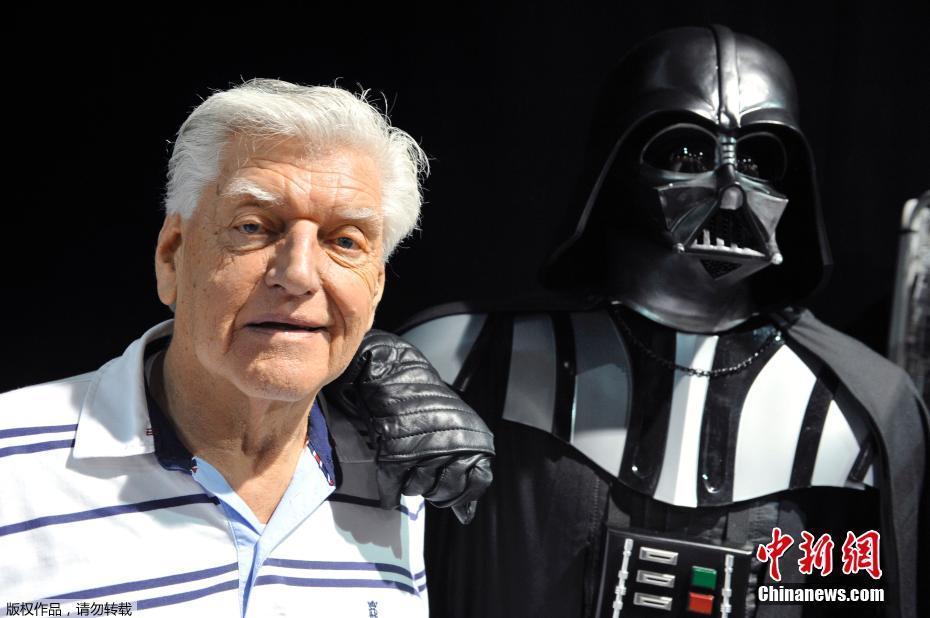 """星战大反派""""维达""""扮演者去世 享年85岁"""