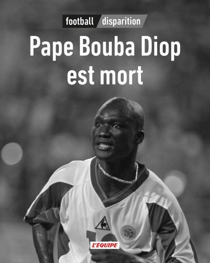 前塞内加尔国脚迪奥普病逝,02世界杯曾绝杀法国