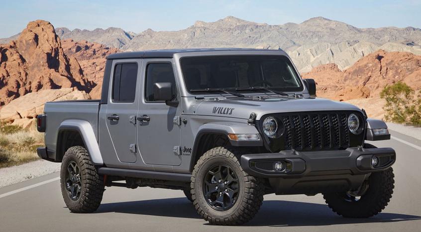 Jeep Gladiator特别版官图 越野更出众