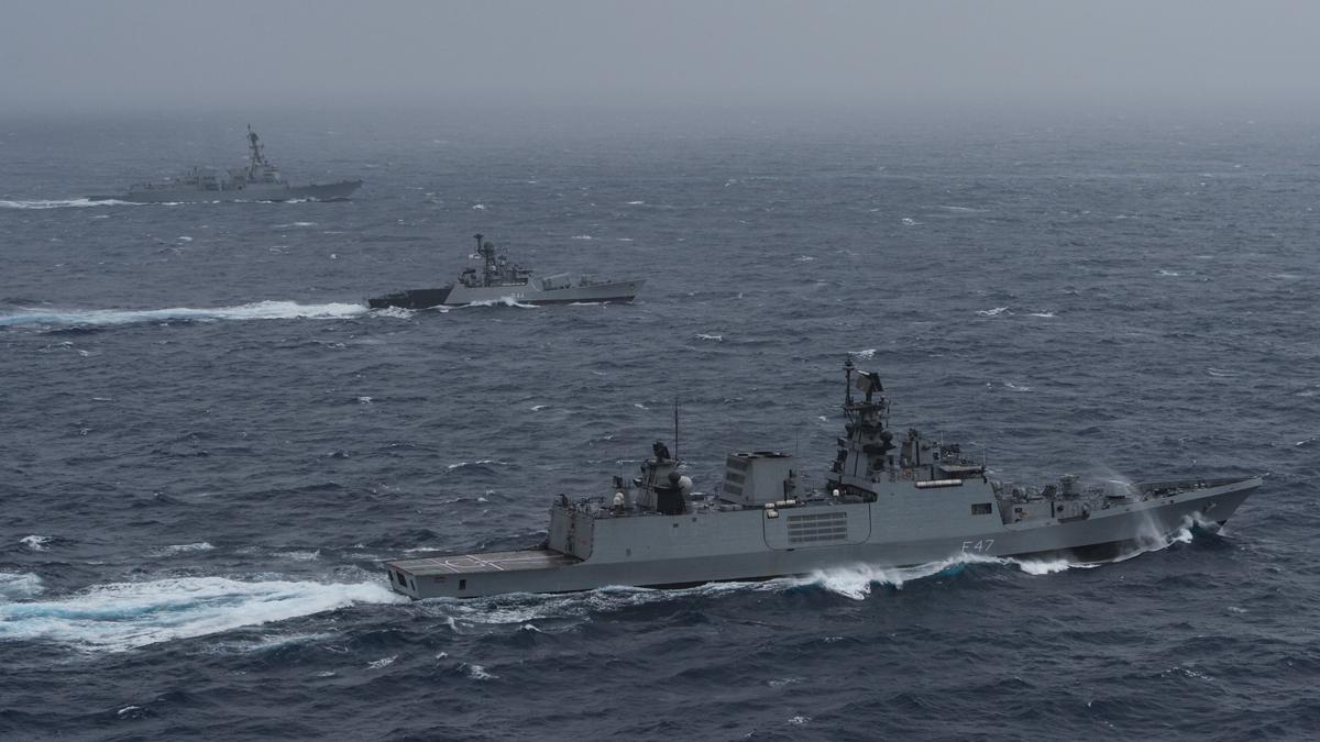 美日印澳四国海上联演开始 日媒:目的制约中国