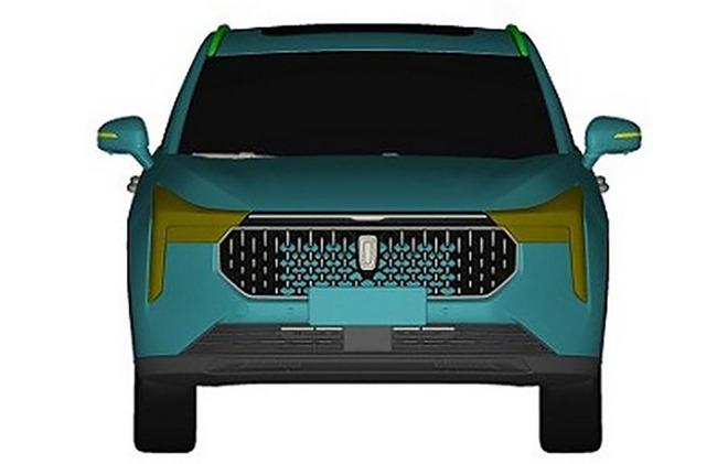 采用全新S系列命名 奔腾全新SUV专利图曝光