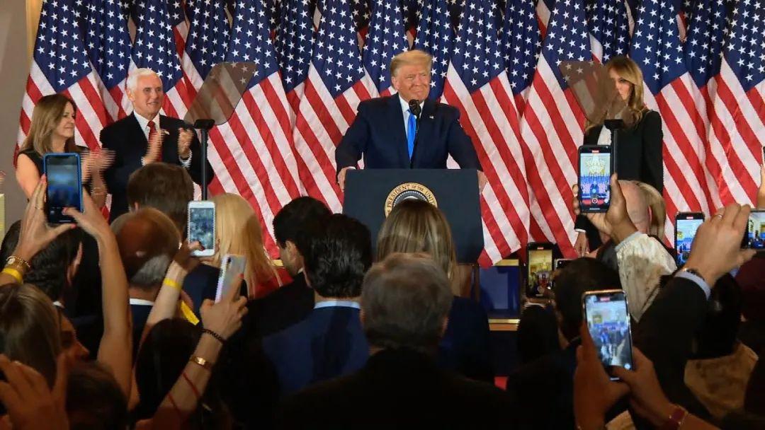美国大选还在开票,特朗普:坦白说,我们已经赢了