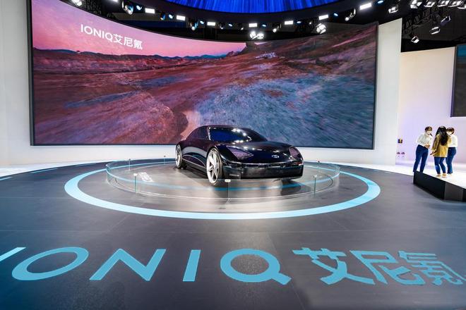 现代IONIQ发布中文命名 首款车型明年亮相