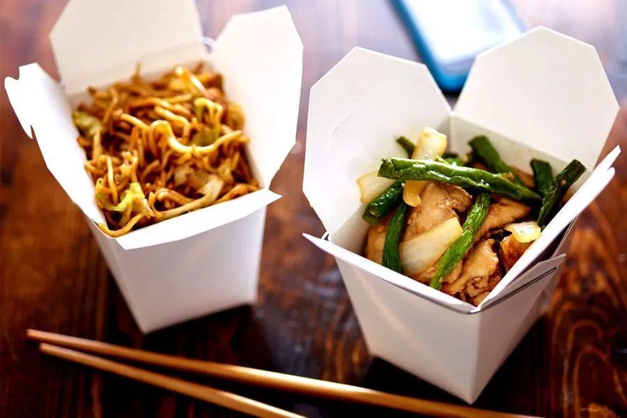 """美国民众焦虑等开票,网上狂搜""""哪有中国菜""""图片"""