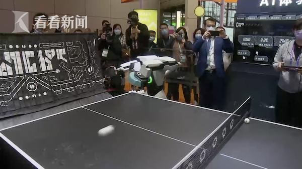 """跟世界冠军对练!5G+AI赋能智慧体育 施之皓推荐""""庞教练"""""""