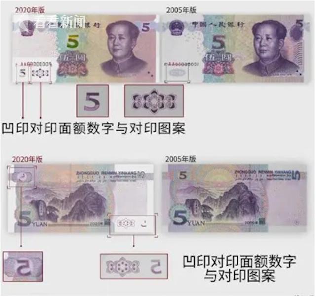 视频|新版五元正式发行 第五套人民币提升工作完成图片