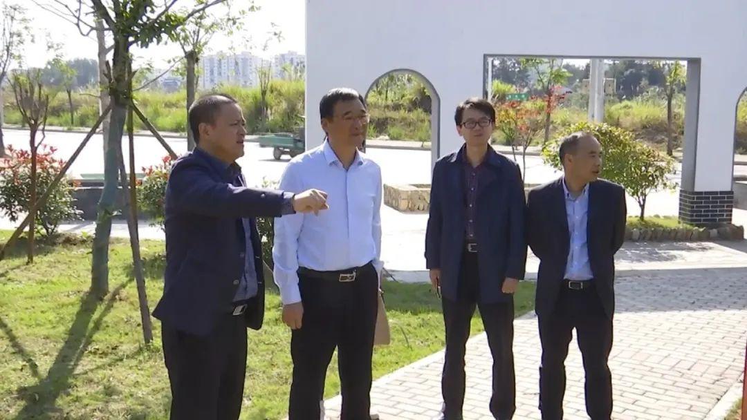 婺源县委副书记、县长吴云飞调研重点项目建设