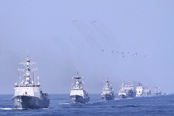 朝鲜半岛首艘航母?图片