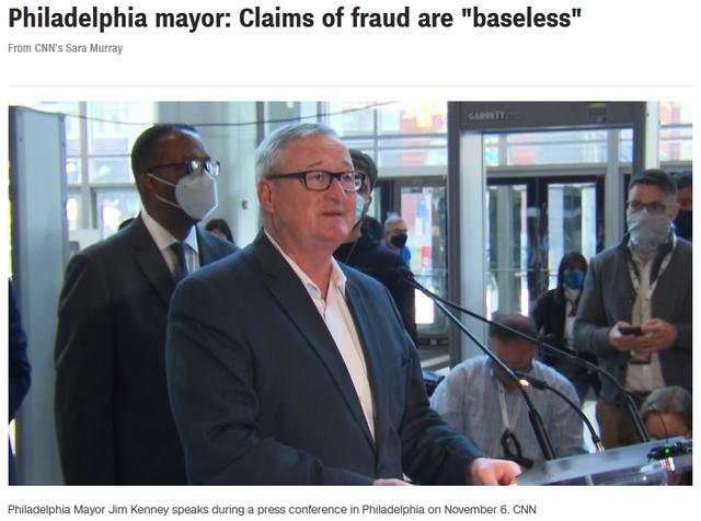 费城市长毫不客气还击特朗普:做个大人吧!