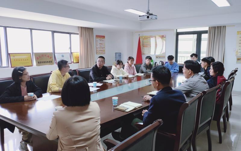 国家煤化工质检中心与蚌埠医学院公共基础学院联合召开食品质量与安全专业实训工作会议