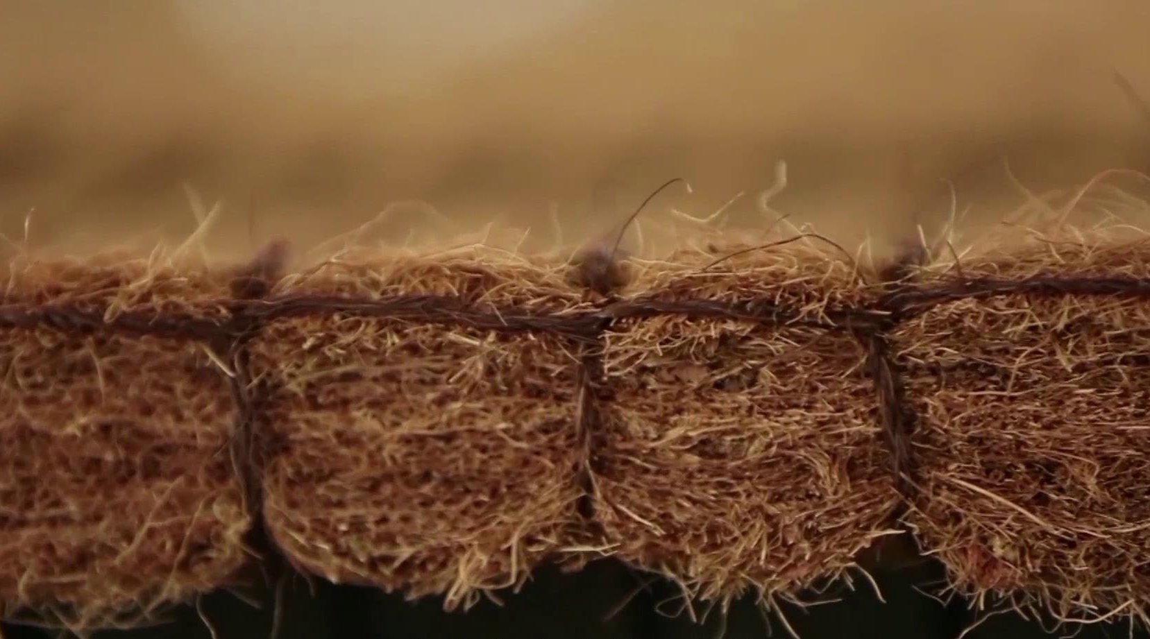"""农村牛人发明""""漏水""""棕垫,10分钟做一张,通风透气1天能卖500张"""