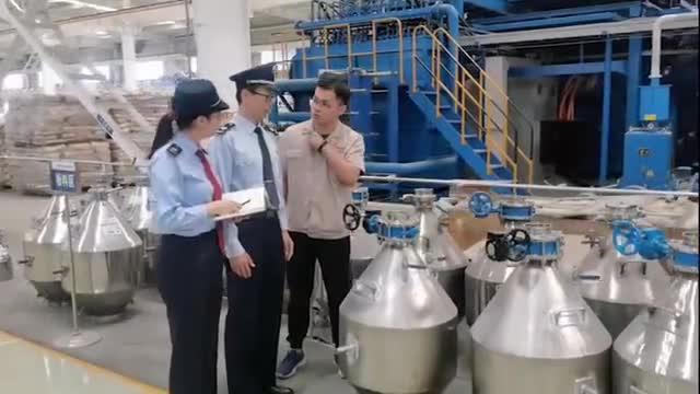 包头市税务局第二税务分局为制造业企业集聚新力量