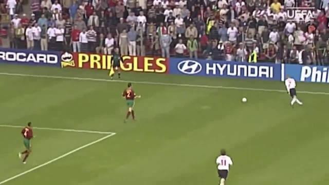 这是你心里最精彩的比赛吗?2000欧洲杯葡萄牙3-2英格兰