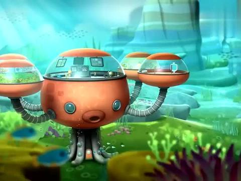 海底小纵队:爪子多就是好啊,做饭都可以搞定,都不用别人帮忙