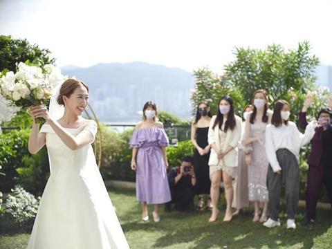TVB小花岑杏贤结婚照曝光,与前男友分手后曾患情伤致身形发胖