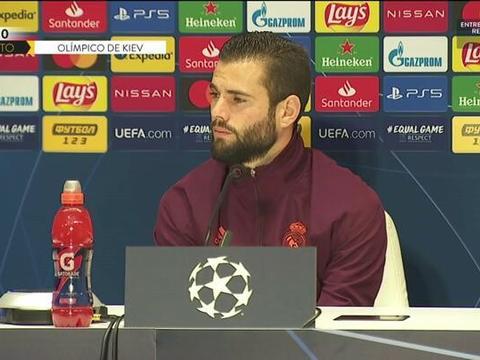 纳乔:无法期盼更多出场时间,身在皇马我已感到幸福
