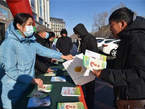 长春绿园市场监管分局开展安全用药活动