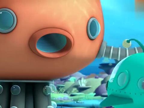 海底小纵队:狮子鱼好大的饭量,只用了一口,就把鱼饼干都吃了