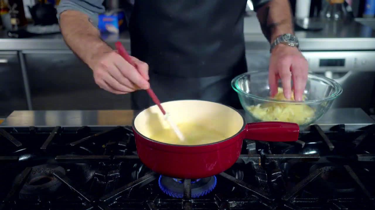 热量爆炸的奶酪火锅教程