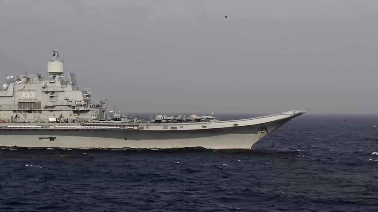 """""""马拉巴尔-2020""""联合军演,印度海军"""