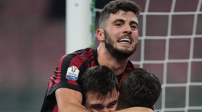 意大利杯回忆,AC米兰3-0维罗纳,库特罗内进球