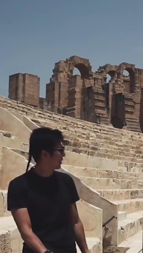 古罗马的看台..