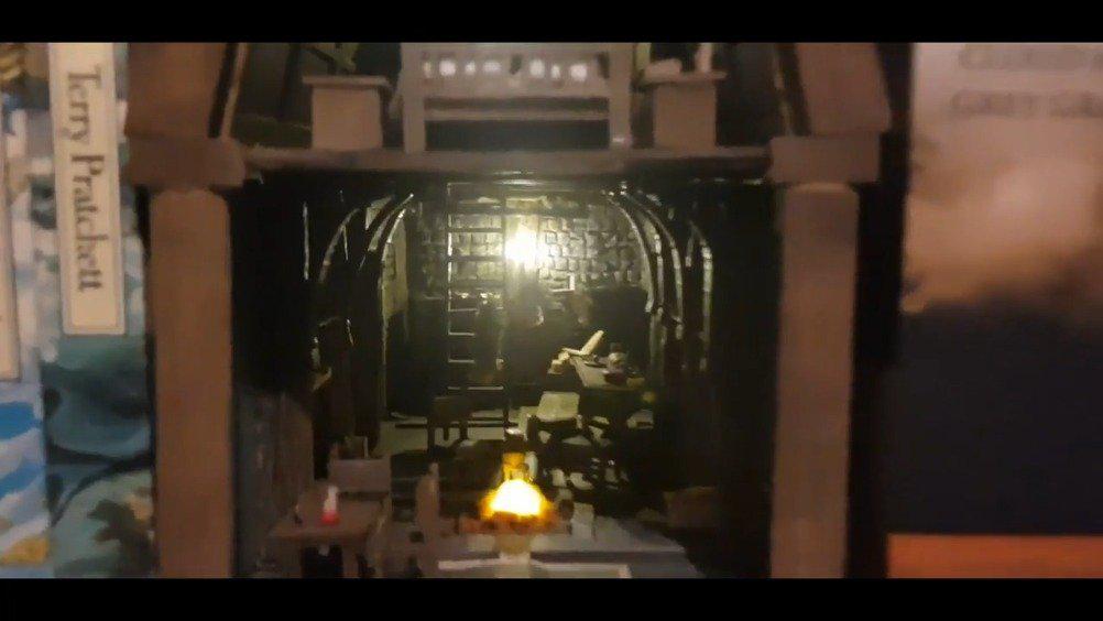 玩家打造微型《老滚5》风宅 精致还原、家具齐全