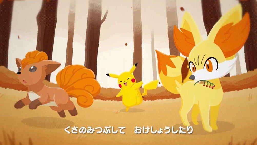 《宝可梦》官方儿童频道发布童谣「小狐狸」