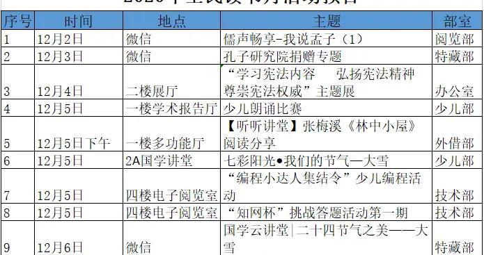 预告|济宁市图书馆全民读书月活动精彩来袭