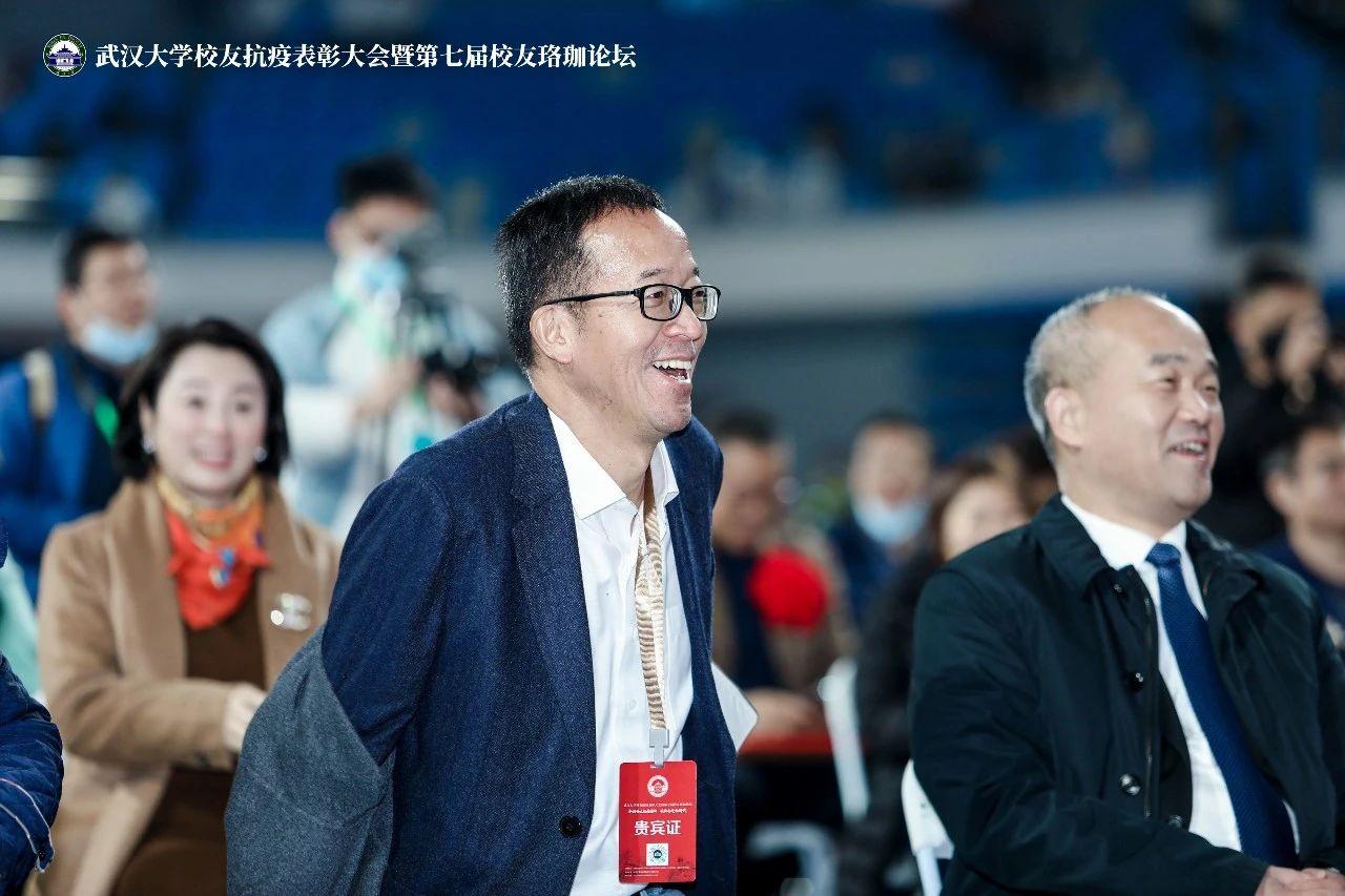 俞敏洪武大演讲丨自强不息是中国人的力量!
