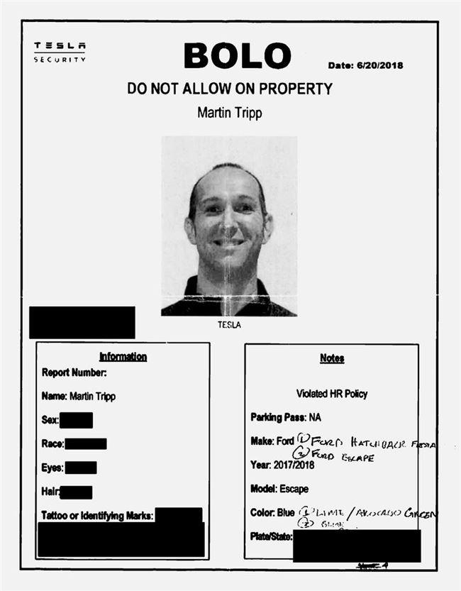 特斯拉前员工因泄露机密赔偿40万美元 曾公开和马斯克对骂