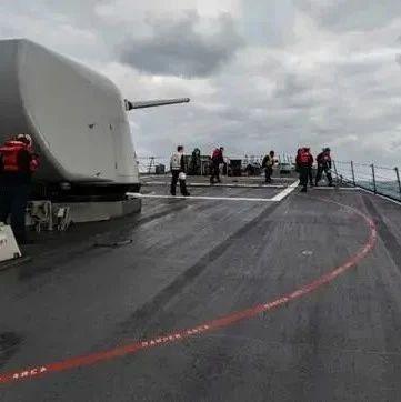 被俄军警告驱离后 美军神盾舰转身来到东海