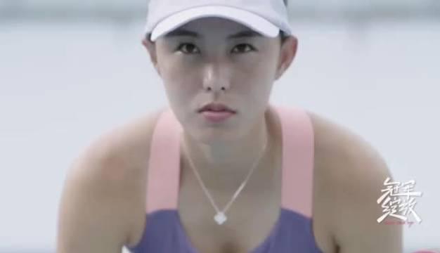 中国网球女将@王蔷_小Q 是网球界的骄傲…………