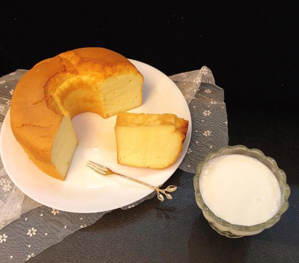 快速消耗淡奶油的好去处,试一试这款戚风蛋糕,好吃不上火
