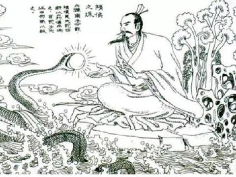 """春秋战国时期,随国有一珍宝,名叫""""隋侯之珠"""""""