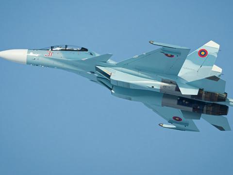 亚美尼亚空军早就投降了:有苏30也不敢用,土耳其虎视眈眈
