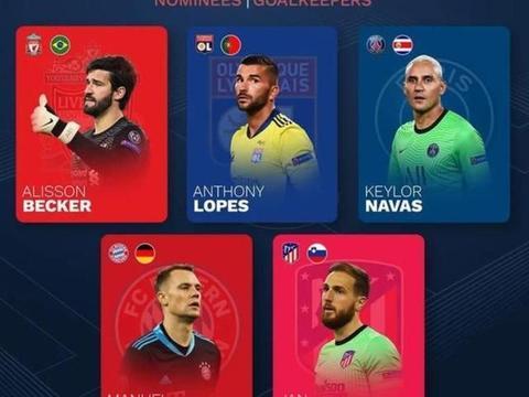欧足联年度最佳候选出炉,70后竟无一人入选,欧洲卷起青年风暴