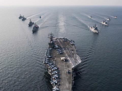 伊朗局势再次紧张之际,美航母举动引各国关注,或进一步加剧矛盾