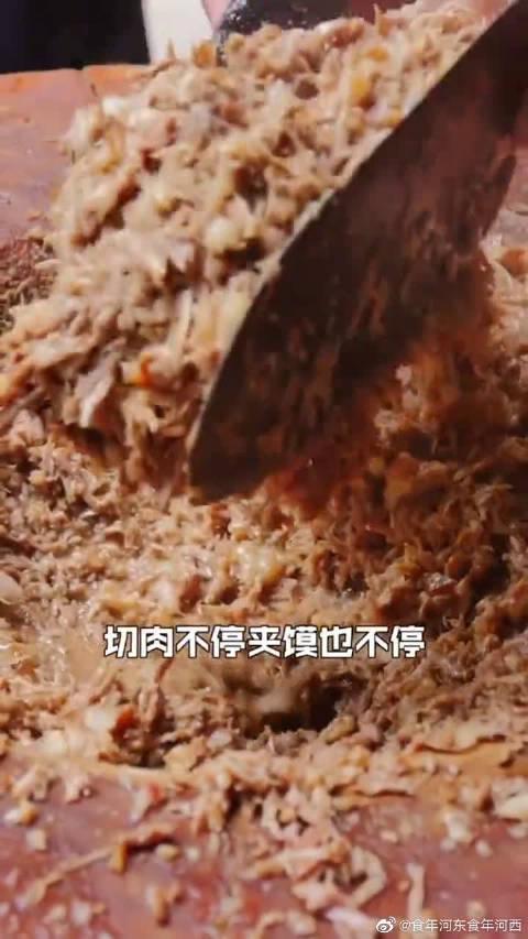 爆款肉夹馍,最费的居然是菜板!塞进去的到底是肉还是木屑?