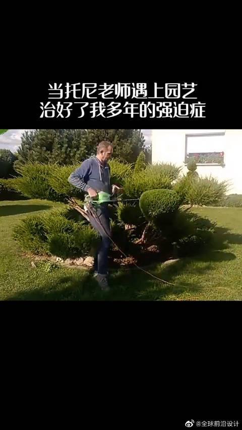 新请来的园艺曾是托尼老师吧?……