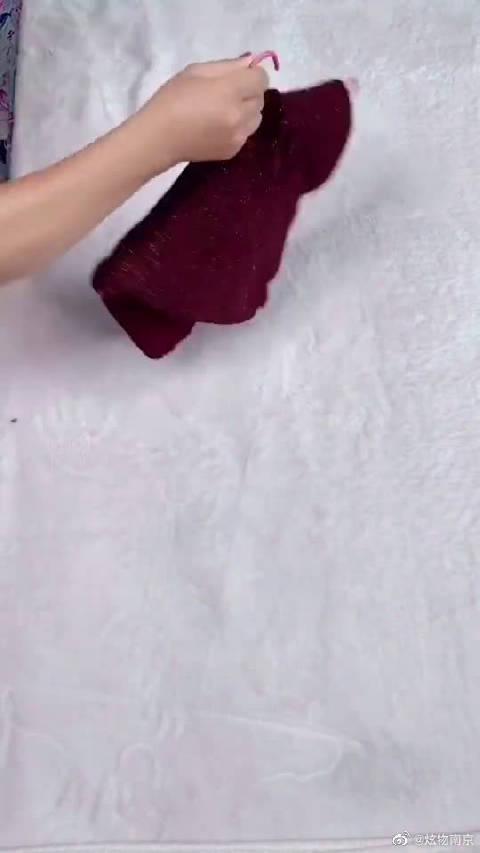 毛衣正确的晾挂方法,这样不会变形,马住!!