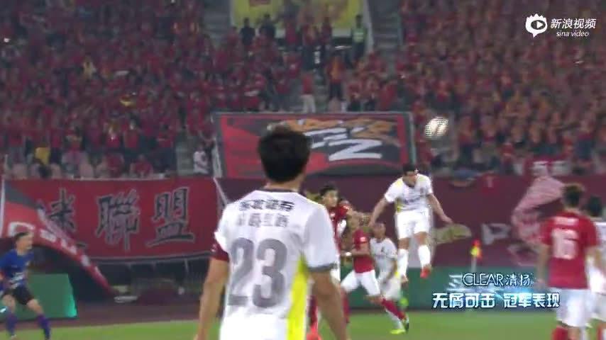 2014赛季中超联赛第三轮,广州恒大主场迎战长春亚泰……