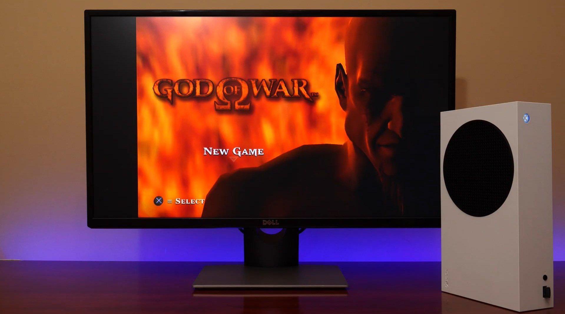 你可以在Xbox Series X上玩PS2版《战神》