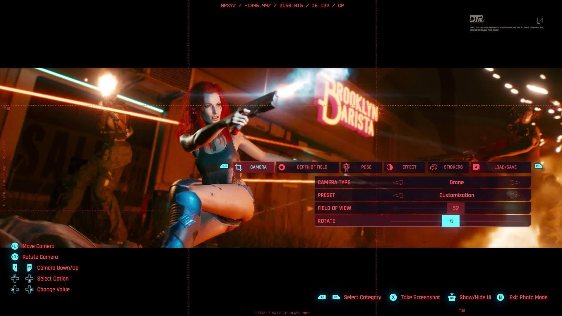 《赛博朋克 2077》公布拍照模式演示视频…………