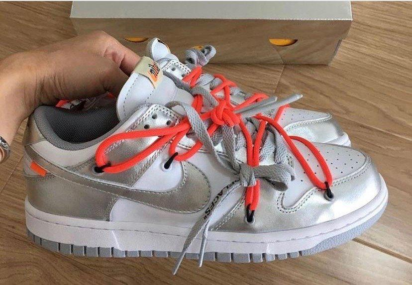 Off-White x Nike Dunk Low 新配色实物释出,觉得👌还是 ?……